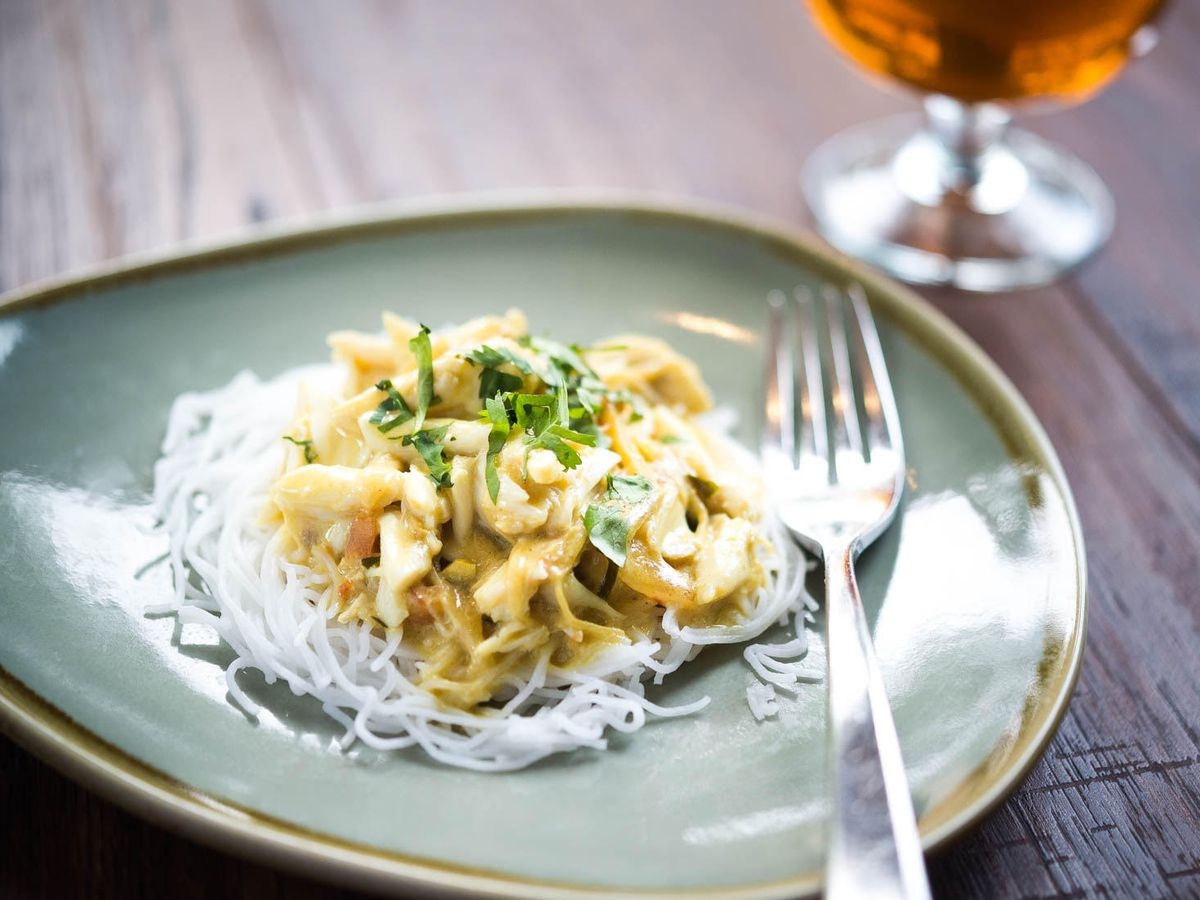 Bindaas's crab dish