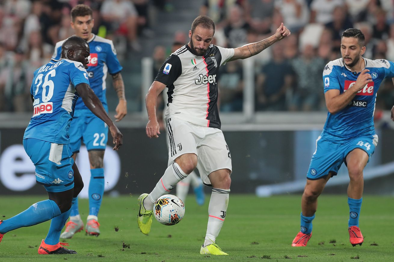 So, Gonzalo Higuain contributing at Juventus this season really is a thing