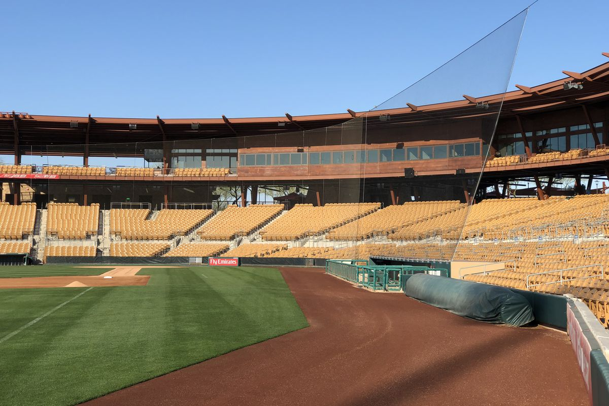d27430c4d29 Protective netting extended at both Dodger Stadium and Camelback Ranch