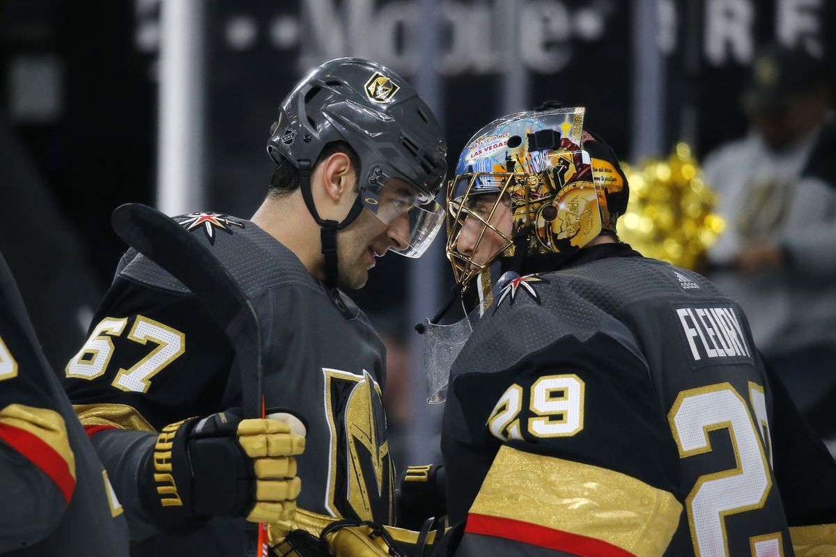 NHL: FEB 26 Oilers at Golden Knights