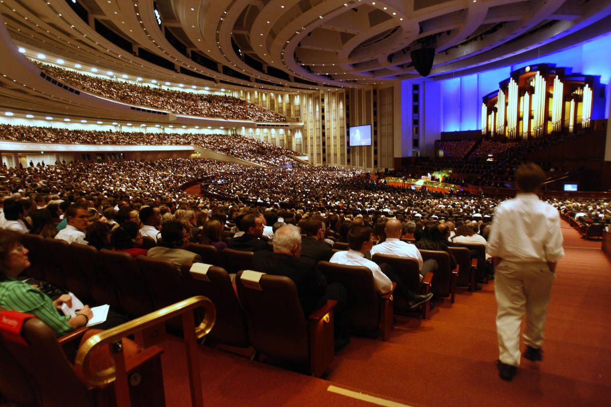 Sunday afternoon session of the 181st Semiannual General Conference of The Church of Jesus Christ of Latter-day Saints Sunday, Oct. 2, 2011.