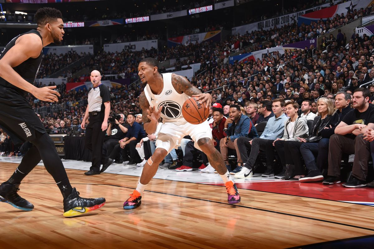 pretty nice 73ecc 67213 Beal scores 14 in the 2018 NBA All-Star Game - Bullets Forever