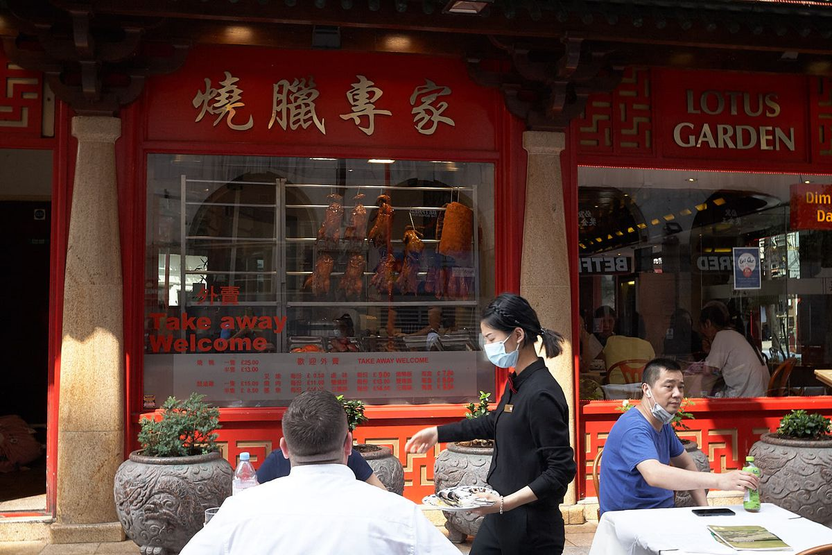 Restaurants in central London's Chinatown are taking advantage of a new alfresco dining scheme