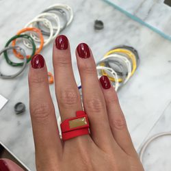 Nylon 3D printed ring, $28