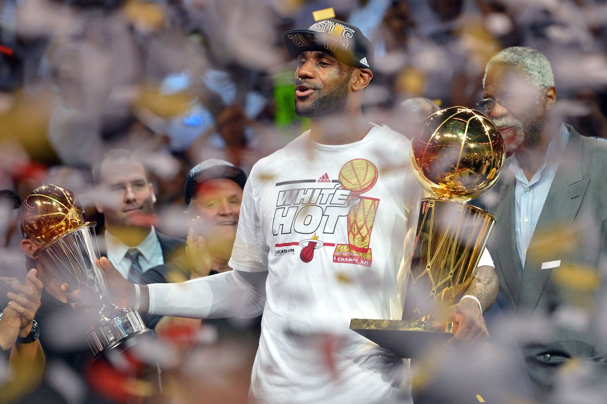 Spurs vs. Heat: LeBron James wins second straight Finals MVP - SBNation.com