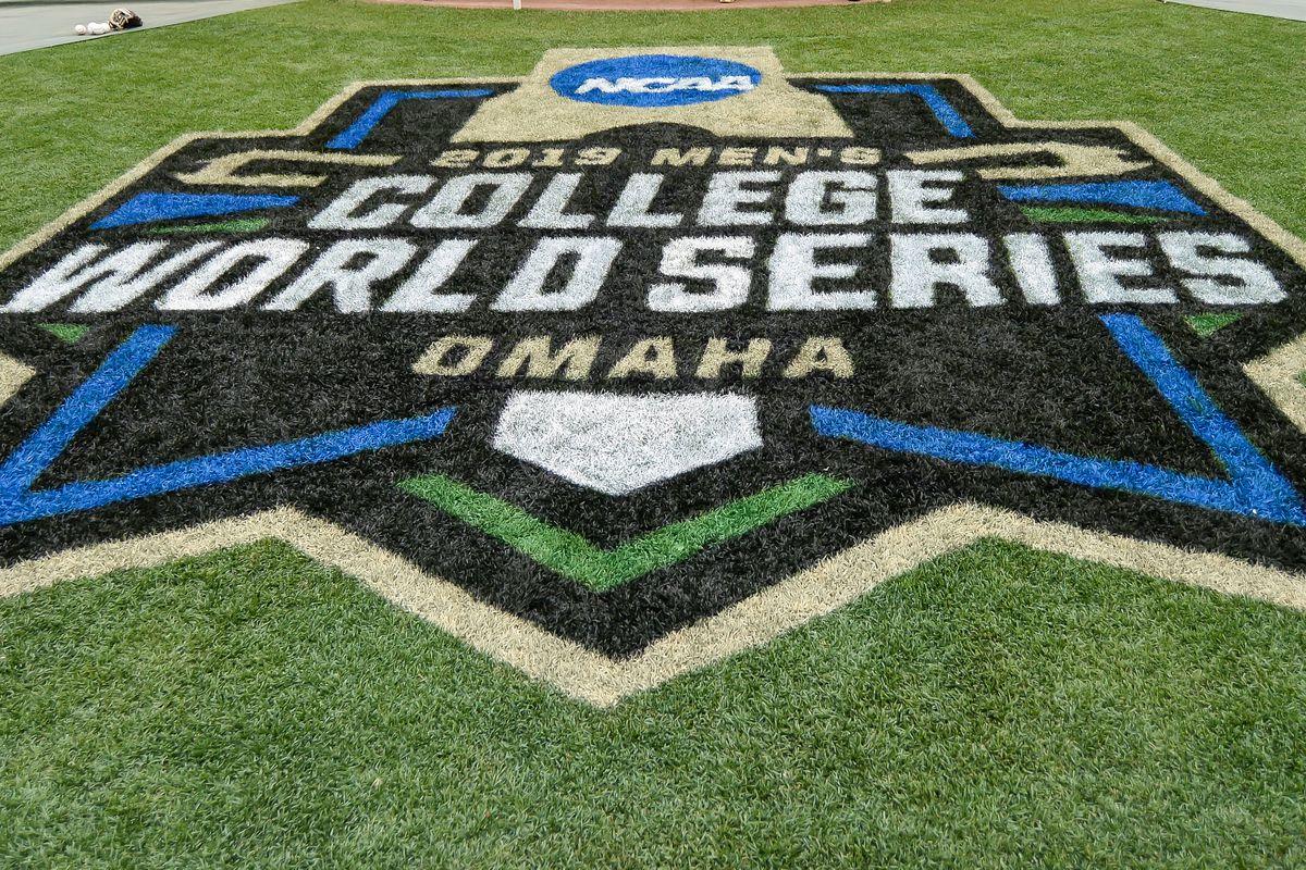 NCAA Baseball: College World Series-Practice