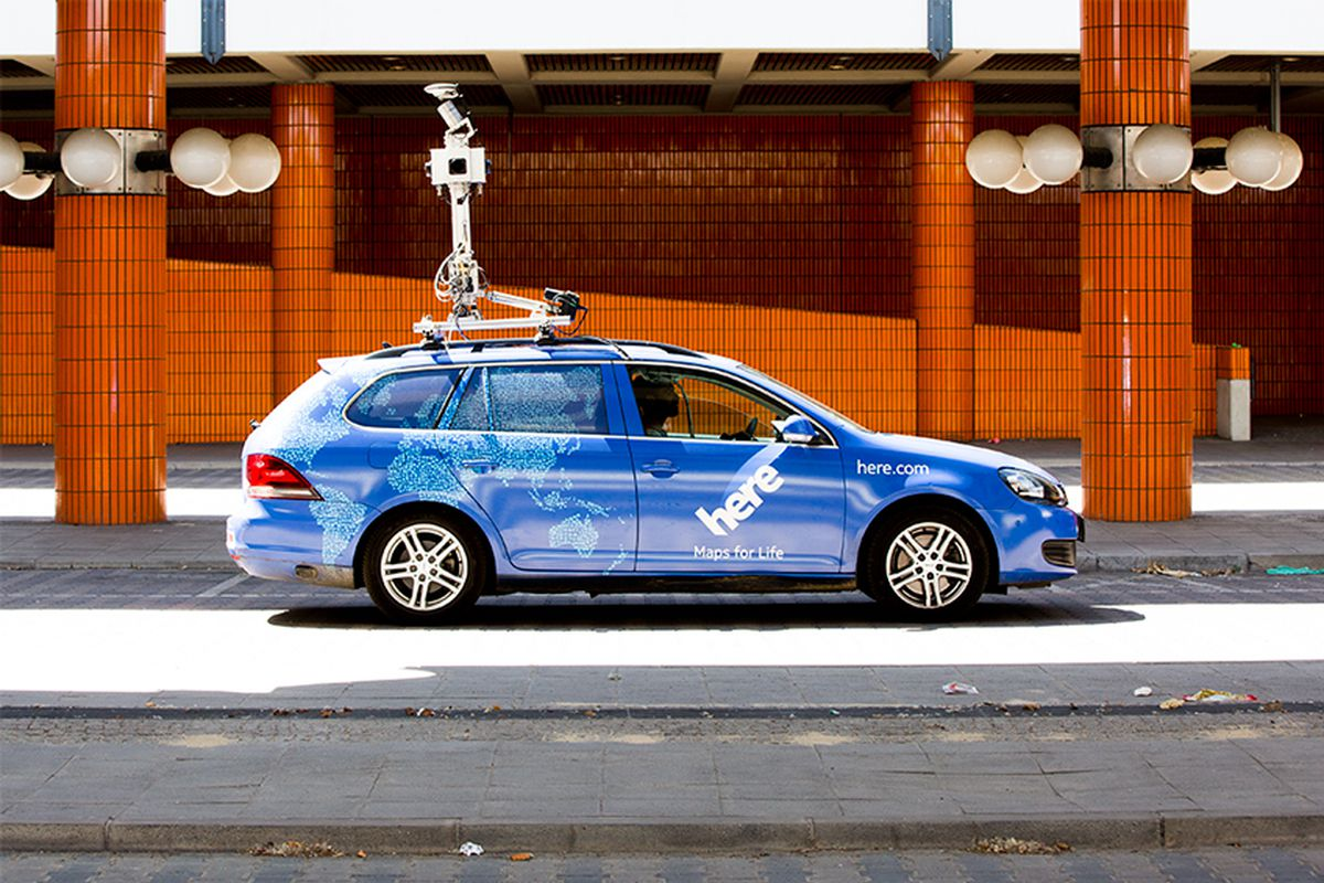 Here mapping team plans to use real-time driver data for autonomous cars - The Verge