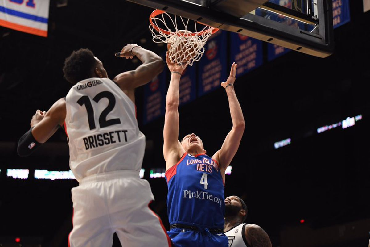 Nic Claxton hurt as Long Island remains winless at home, losing to Raptors 905, 106-95