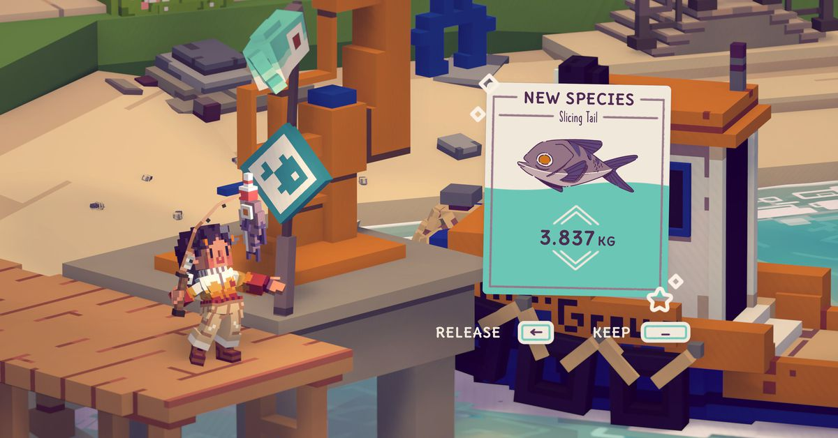 Fishing sim Moonglow Bay review: angling mini-games and heartfelt story