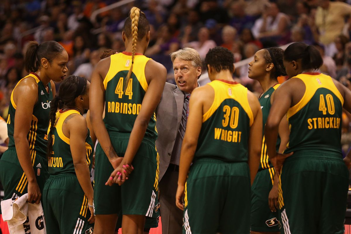 Brian Agler has helped the Seattle Storm overcome some major weaknesses this season to make the playoffs.