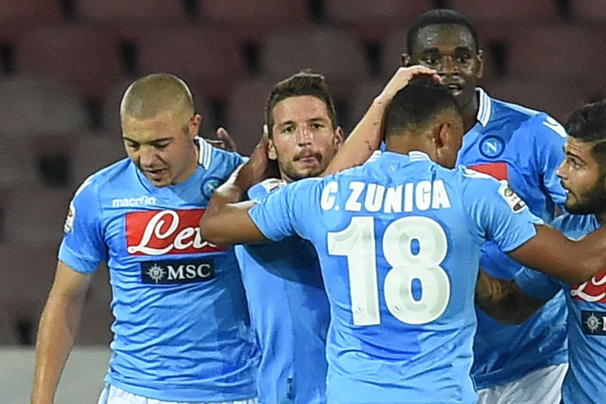 When last we saw Napoli, they were being adorable.