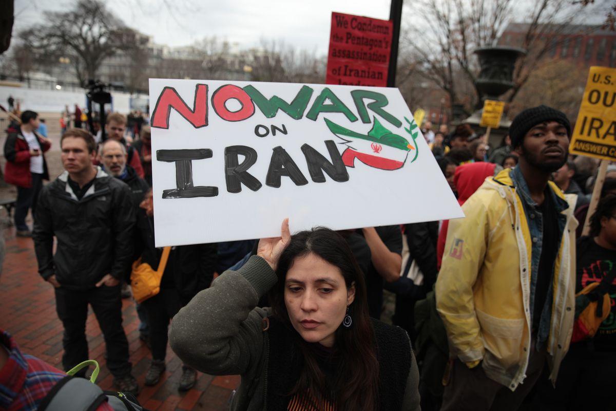 Anti-war rally in Washington