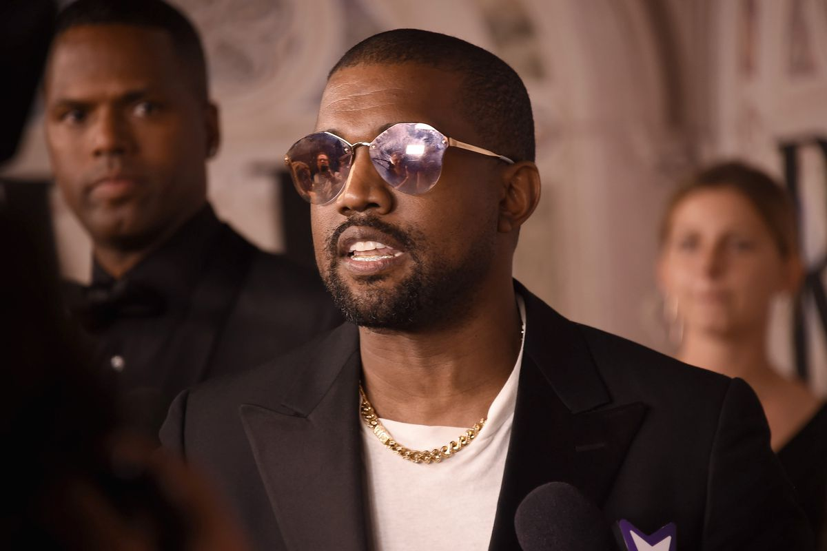 """3c961d7d8bc6 Kanye West has distanced himself from a line of """"Blexit"""" apparel affiliated  with Turning Point USA."""
