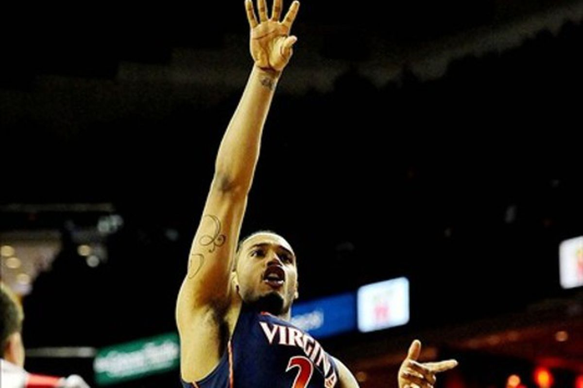 Virginia forward Mike Scott put up 35 points to add to his ACC Player of the Year resume.