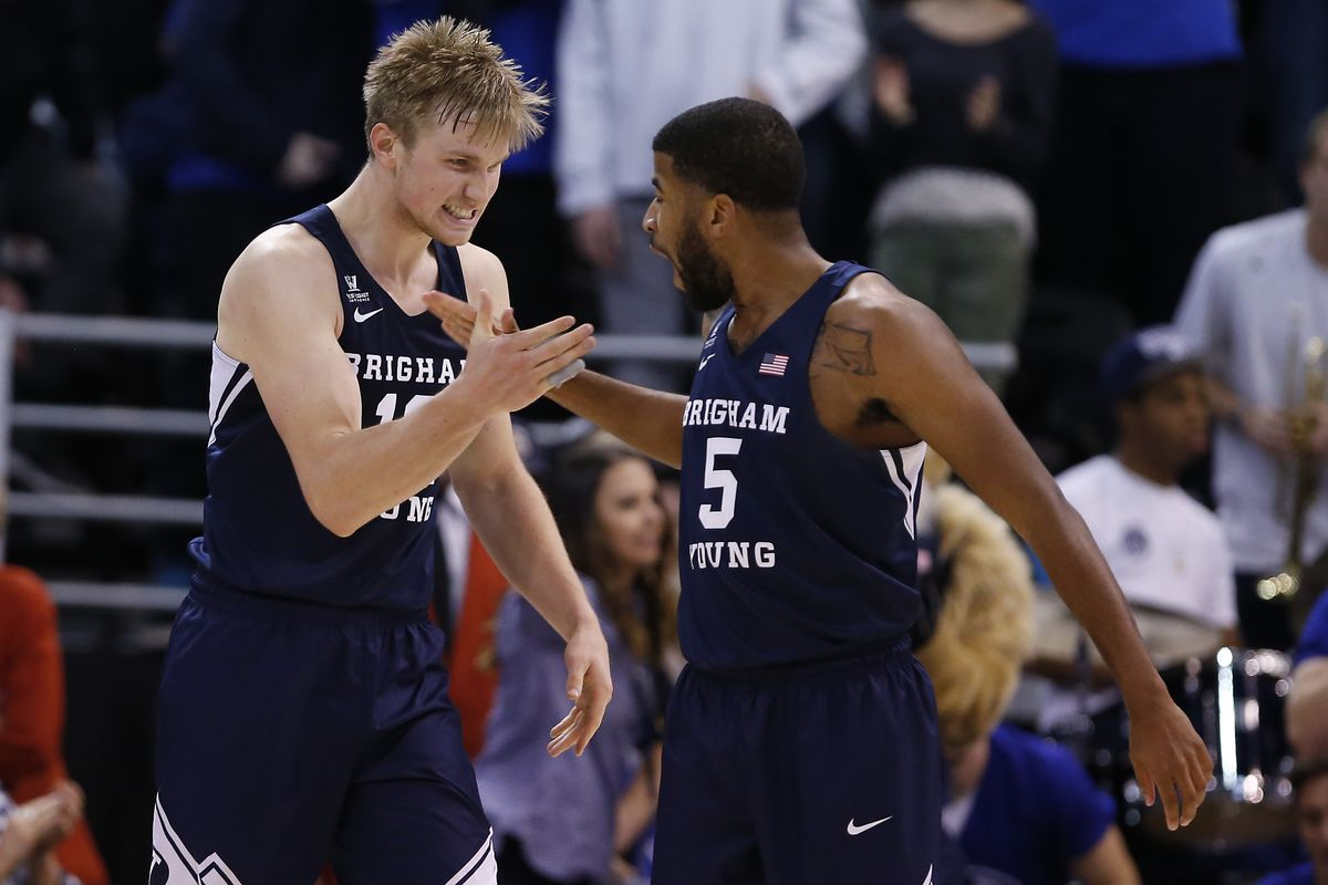 NCAA Basketball: Utah State at Brigham Young