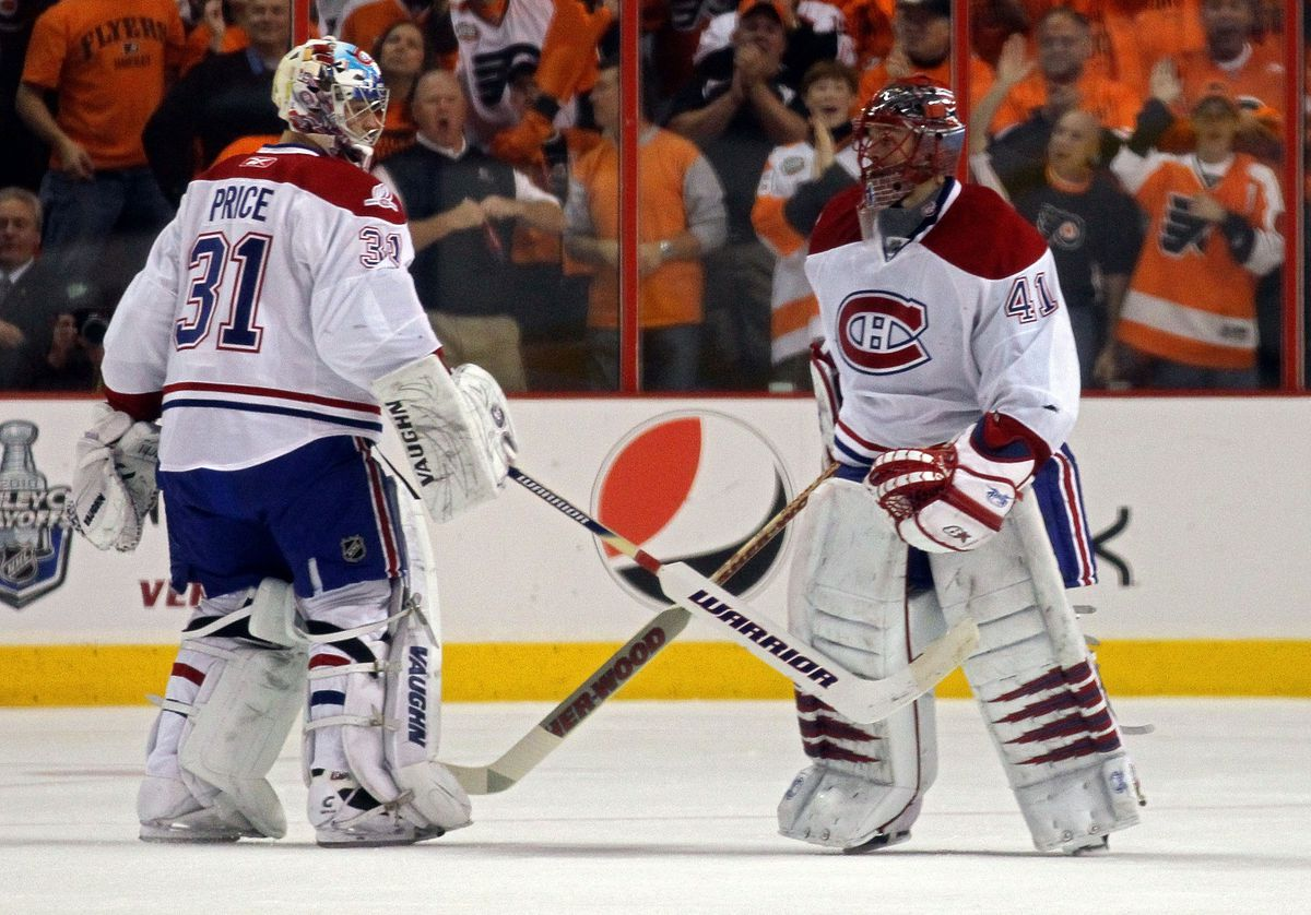 Montreal Canadiens v Philadelphia Flyers - Game One