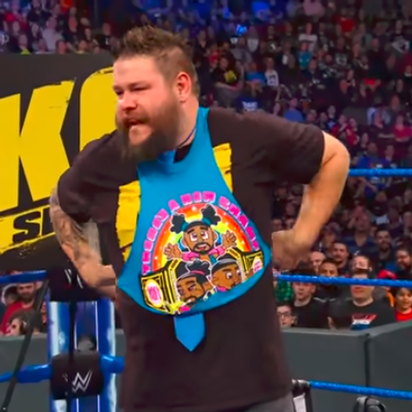 Kevin Owens News Rumors And Videos Big E Feels Some Type Of Way About Kevin Owens Being A New