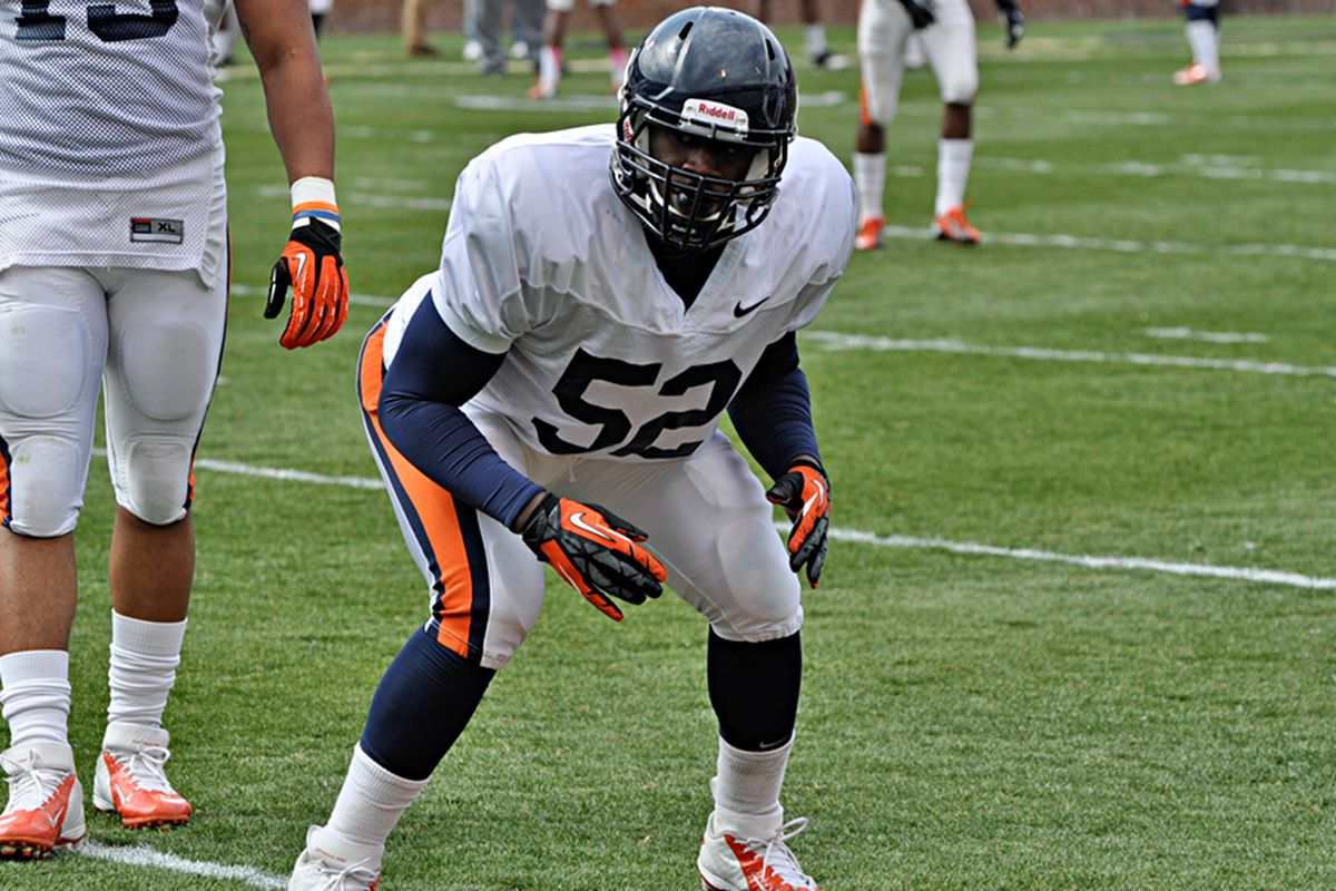 LaChaston Smith enrolled at UVa in January to begin his collegiate career