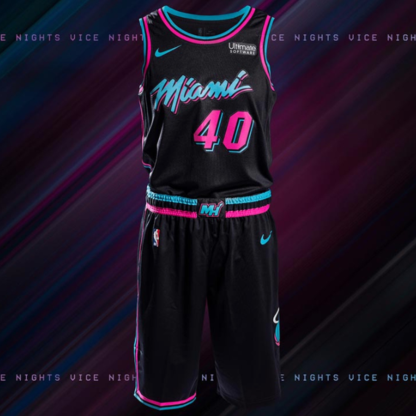 New Miami Heat Vice Jerseys Announced See It Here Hot Hot Hoops