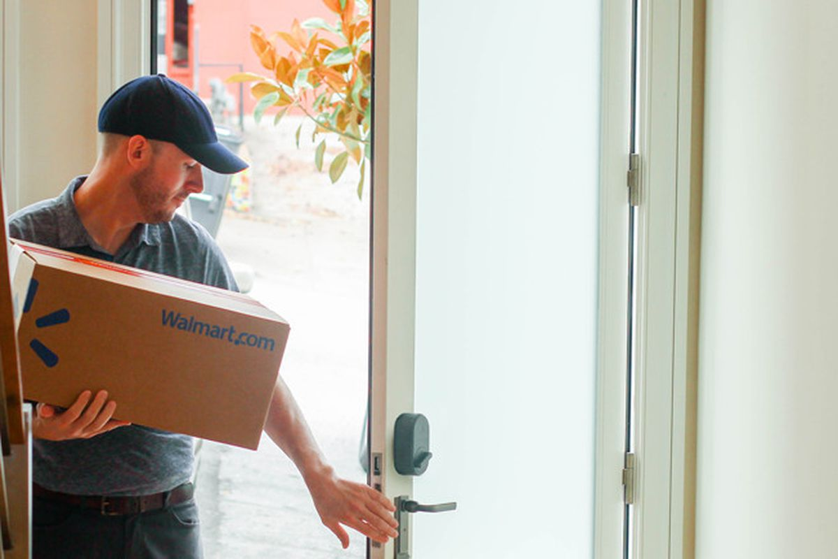 "Walmart and August Home partner to test ""in-fridge"" delivery ..."