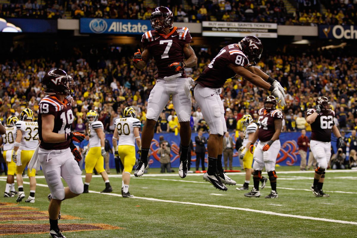 Pitt has a history of playing against Virginia Tech (Photo by Chris Graythen/Getty Images)