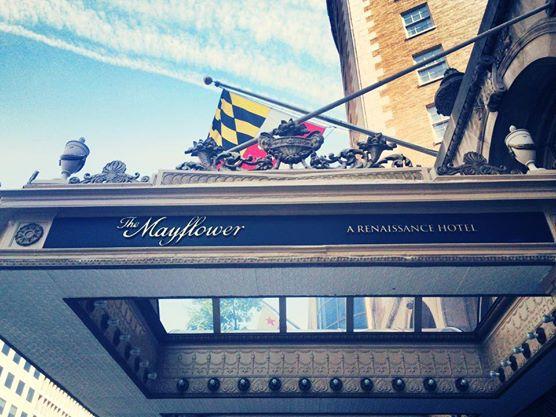 Mayflower Sign