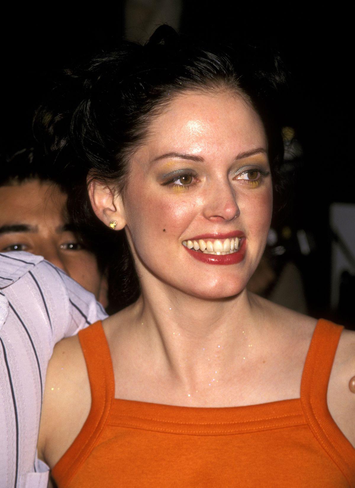 Rose McGowan in 1997