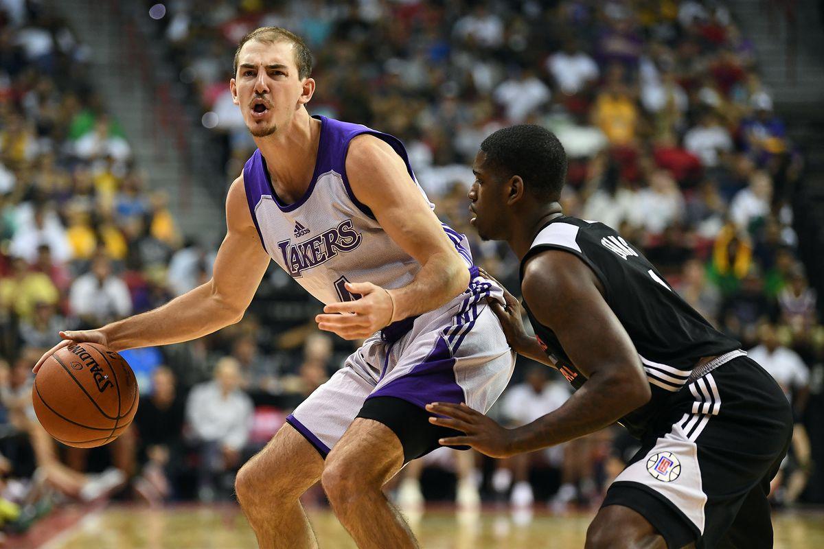 0600bdf158e9c Lakers guard Alex Caruso found Las Vegas Summer League success by not  backing down