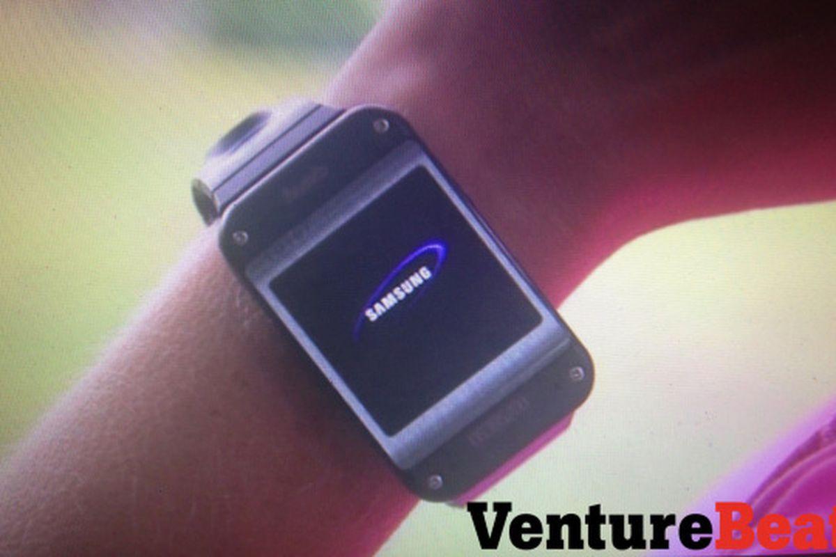Samsung Galaxy Gear leak (VentureBeat)