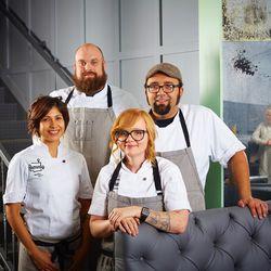 The Remedy kitchen team.