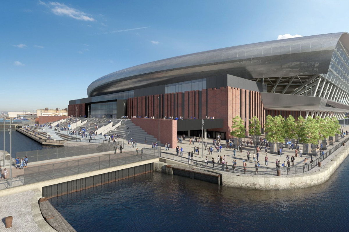 Everton Release New Stadium Update With Design Changes And Likely Delay To Start Of Building Work Royal Blue Mersey