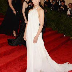Katie Holmes in Calvin Klein