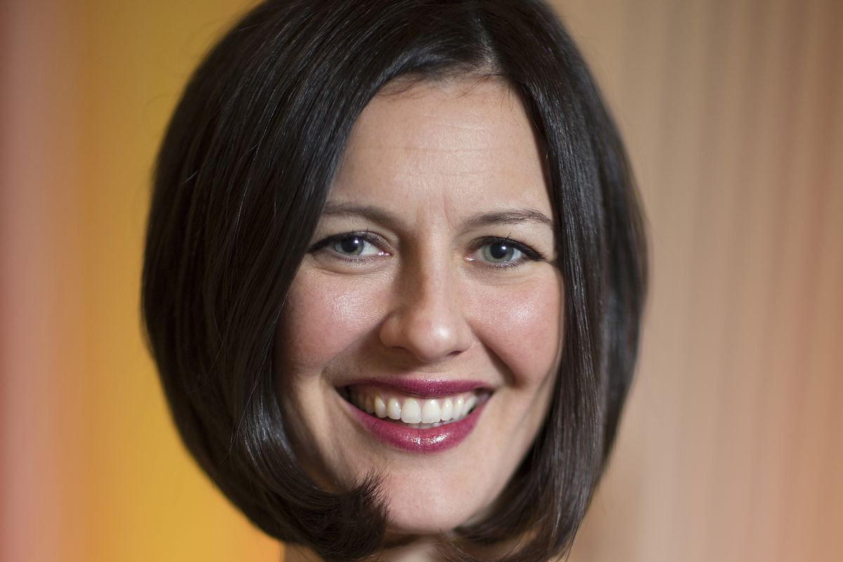 Sarah Personette, Head of Global Business Marketing at                         Facebook.