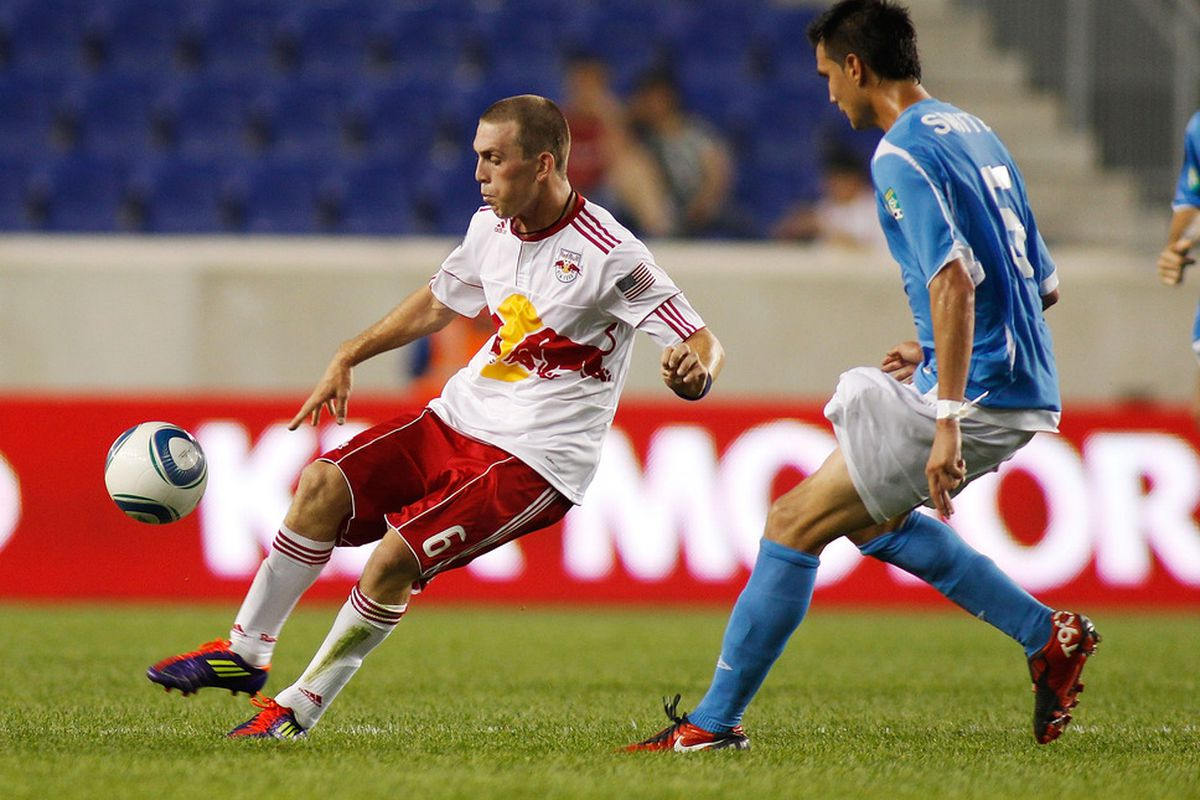 Last year's Open Cup match against now-defunct FC New York was one of the only chance some of the Red Bulls' reserves had to get some minutes, Corey Hertzog included.