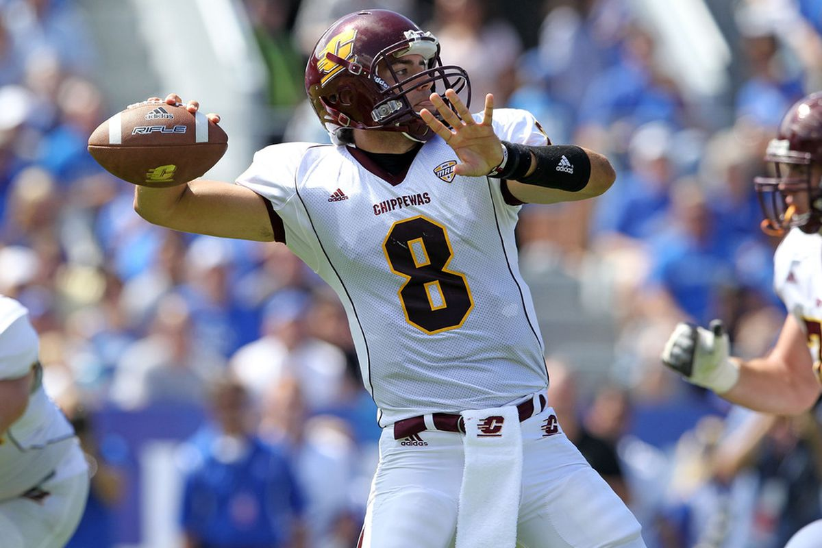Central Michigan gets another televised game ... although it's Friday night.