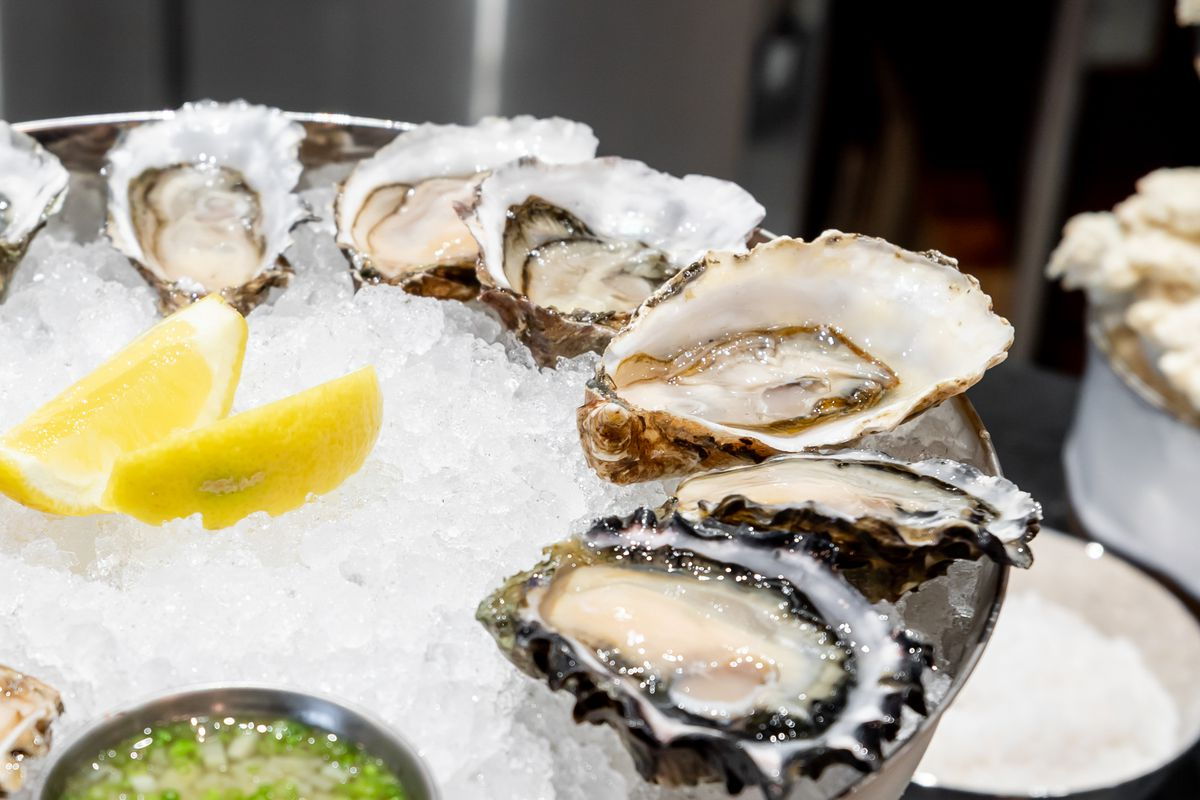Oysters from Anchovy Bar