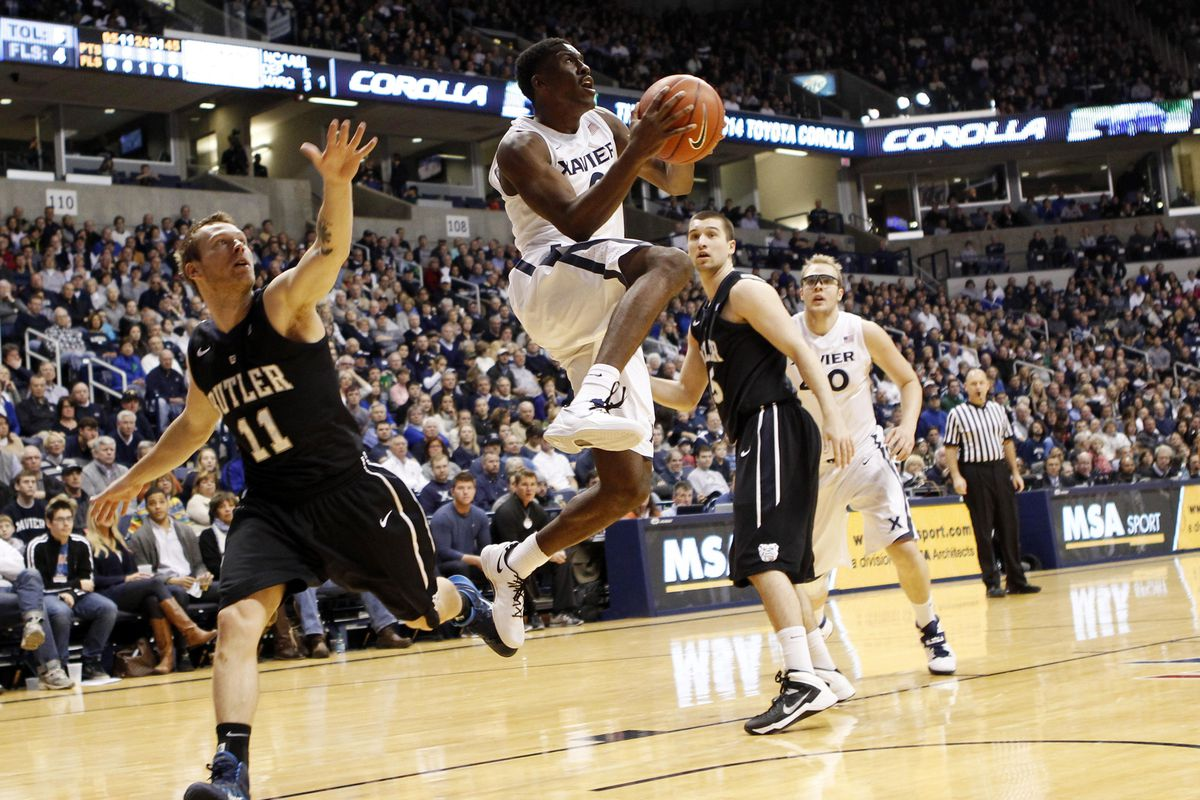 Semaj Christon scored almost at will at times against Butler today.