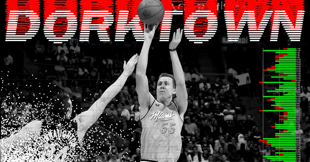 Dorktown: Duncan Robinson has no time for 2-pointers thumbnail
