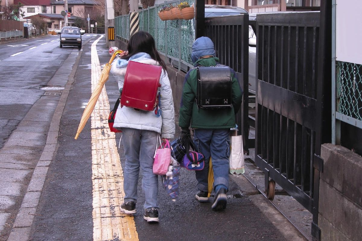 """The new Every Student Succeeds Act contains what amounts to the first """"free-range"""" kid provision, allowing parents to send their kids to school on foot or bike without fear of being accused of endangerment."""