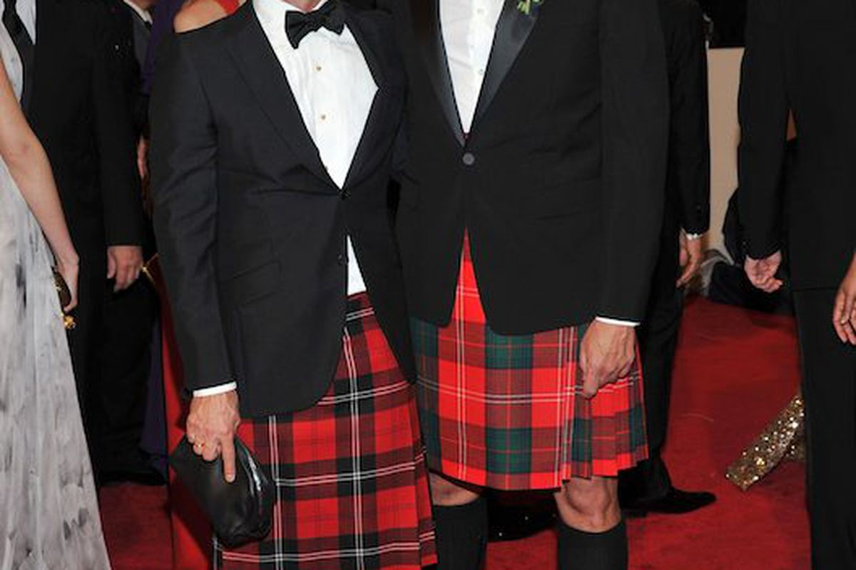 Marc Jacobs and Robert Duffy at the Met Ball (Photo: Getty Images)