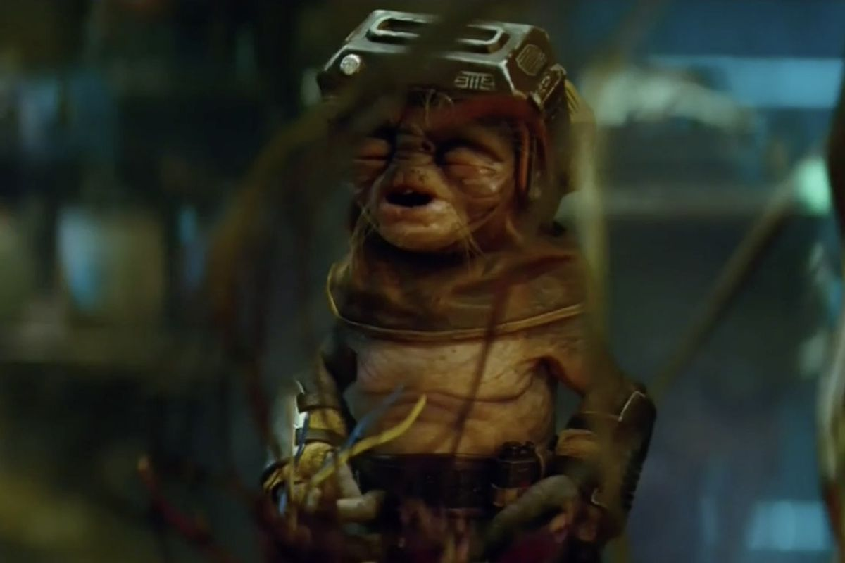 Babu Frik from The Rise of Skywalker.
