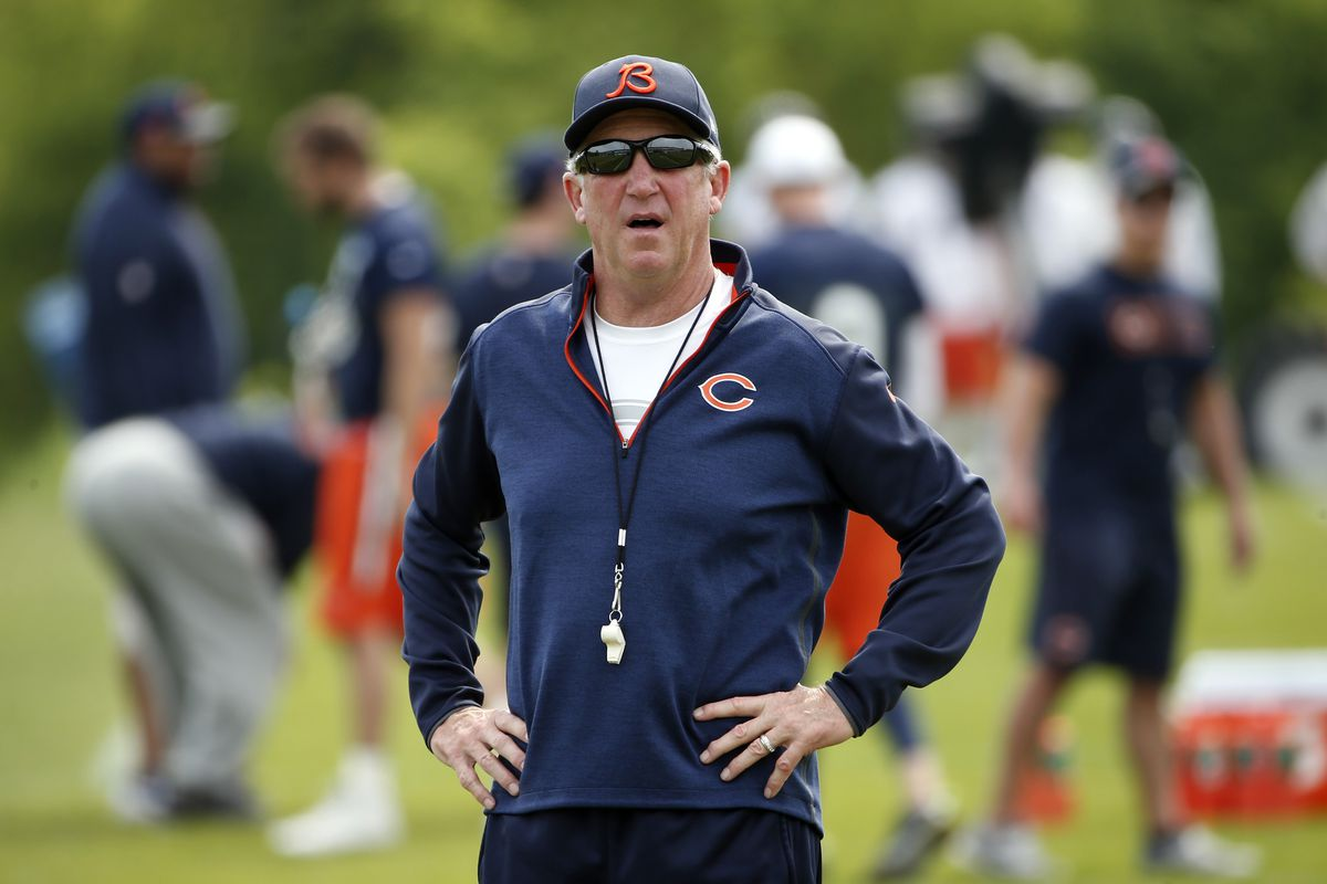 Does Bears's Head Coach John Fox like his pizza Chicago style? Does he drink milk while eating his spaghetti? The offseason begs answers to these questions...