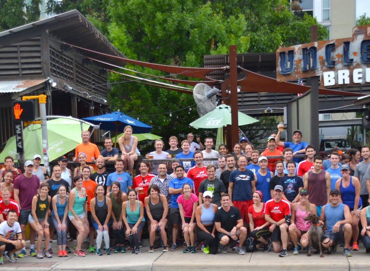 Austin Beer Run Club at Uncle Billy's