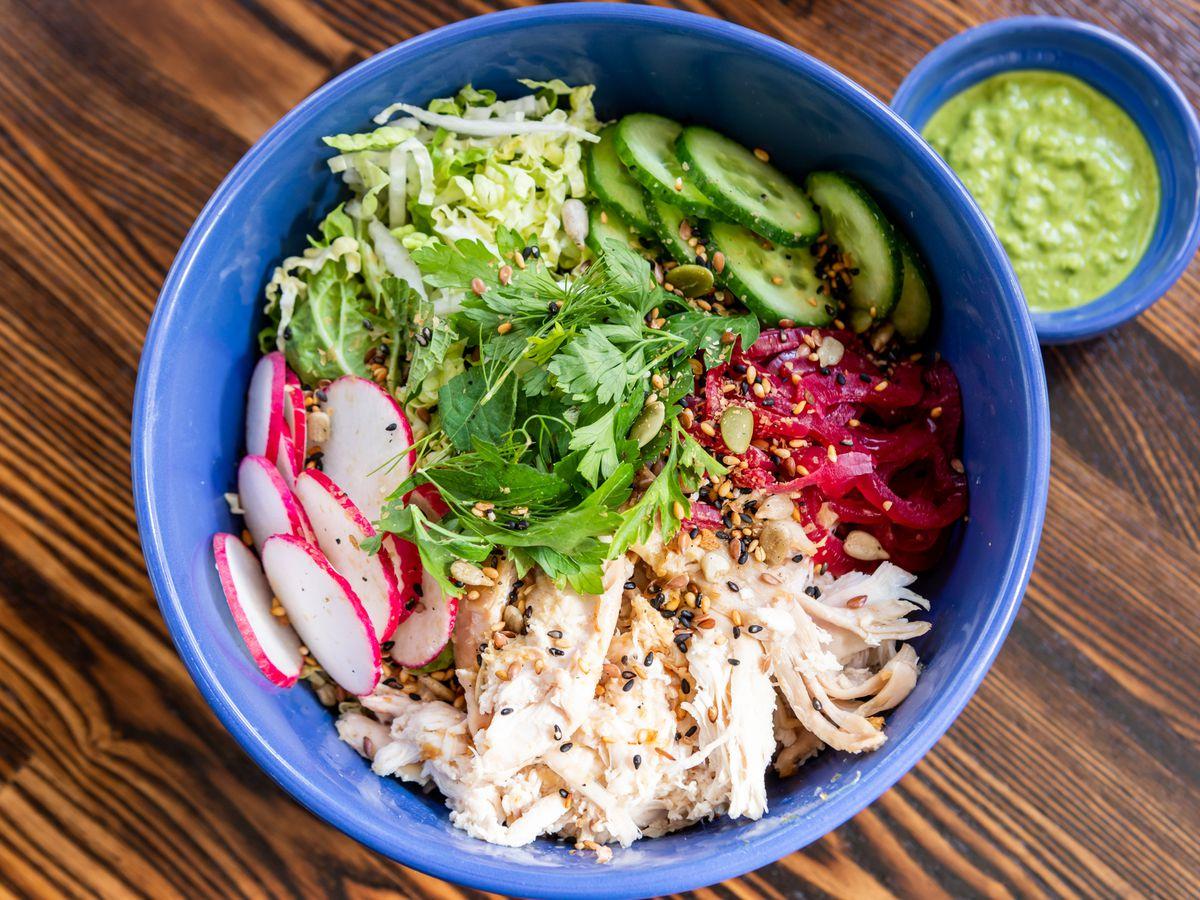 Chicken salad at RT Rotisserie