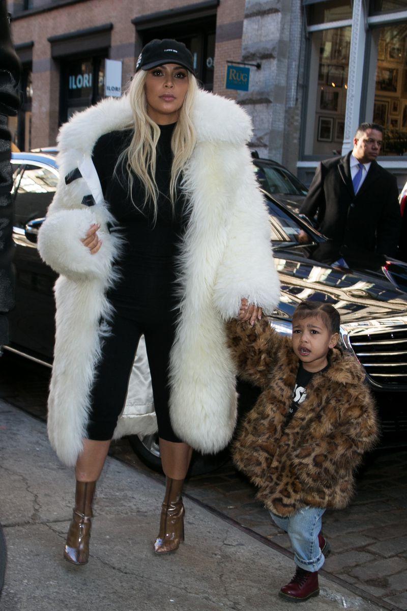 kimkardashiannorthfur Fur is dead; long live fur