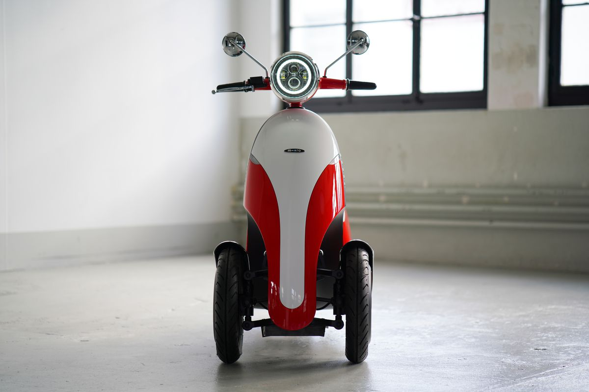 Microletta motorbike.