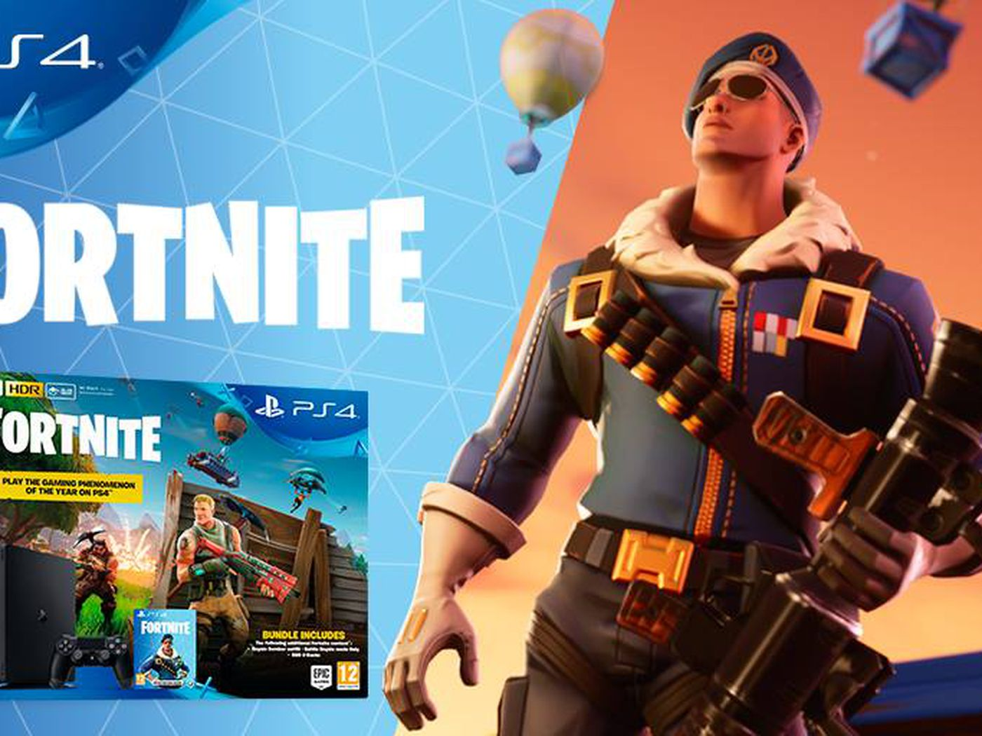 Fortnite PS4 bundle to include new skin: Royale Bomber - Polygon