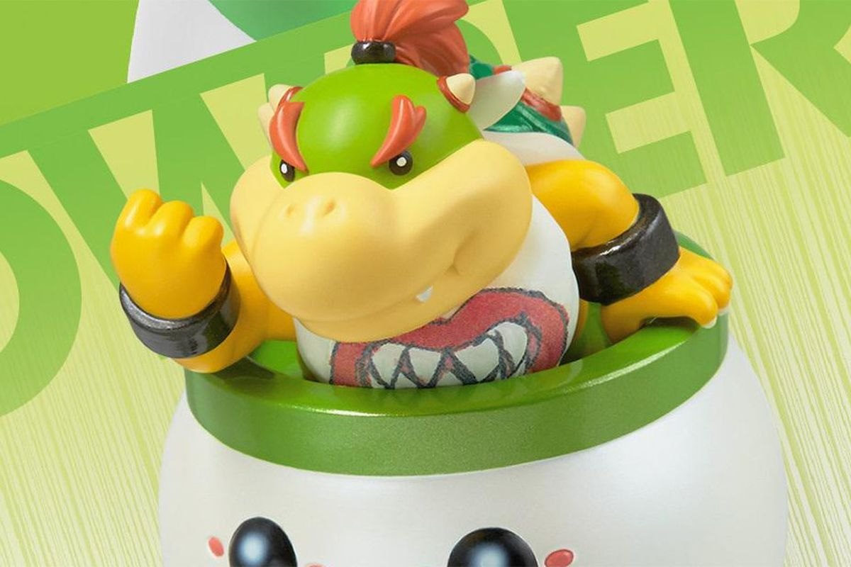 if you want a bowser jr  amiibo  you u0026 39 ll need to go to toys