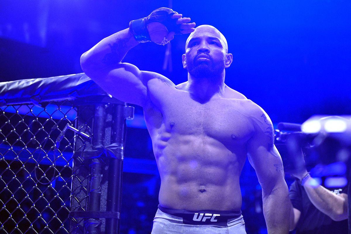 Yoel Romero ahead of his fight with Israel Adesanya at UFC 248.
