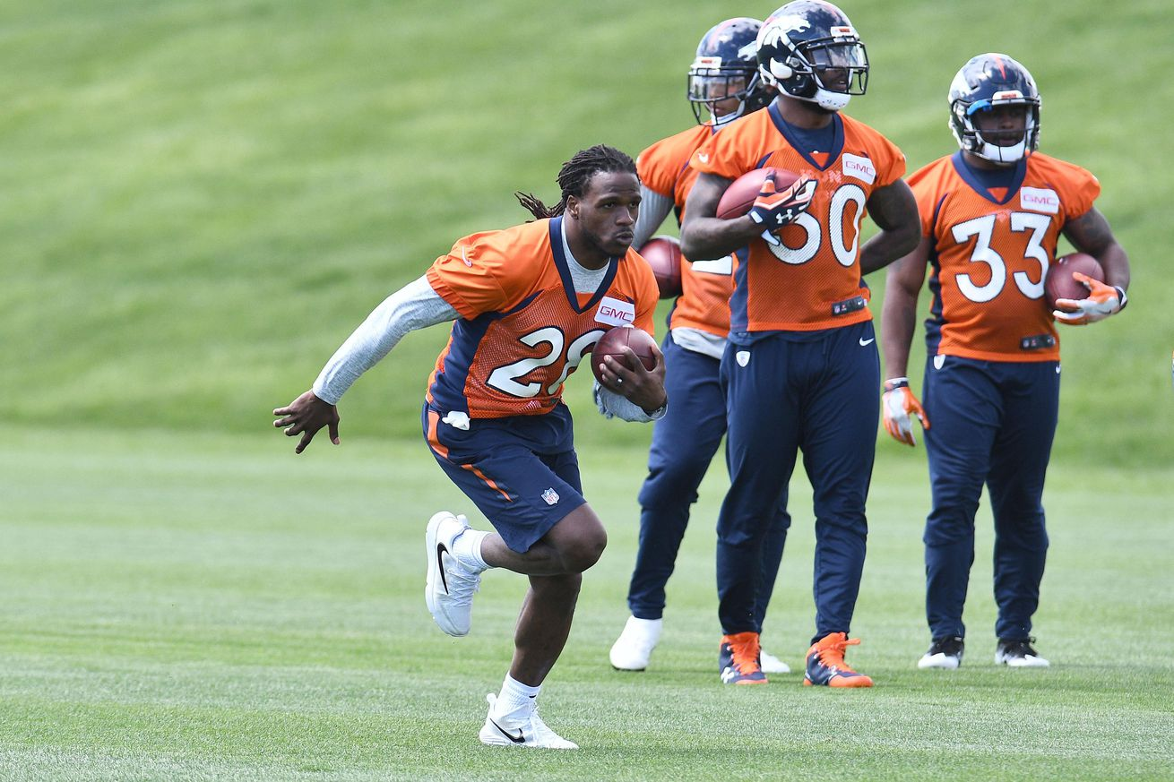 Horse Tracks:  What Broncos running back will have the biggest impact in 2017?